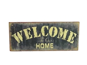 "Vintage-skilt ""Welcome to our home""!"